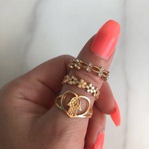 Jewelry - ring bundle size 8